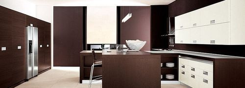 contemporary solid wood kitchen (wenge) EXTRA SIZE MK CUCINE