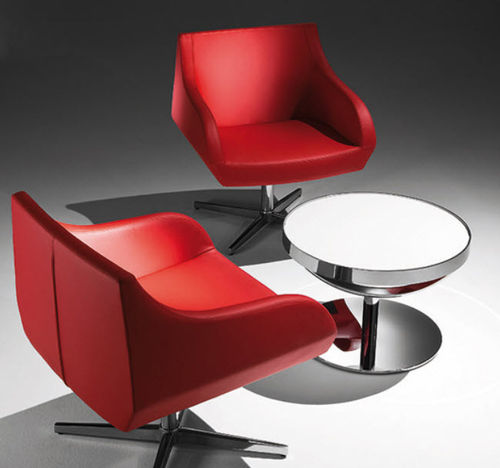 contemporary swivel armchair CRYSTAL TOO by Jackie Choi Design  TONON