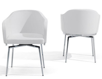 contemporary swivel chair SAMANTHA cattelan italia