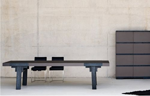 Contemporary table / in wood ZEN BALTUS COLLECTION