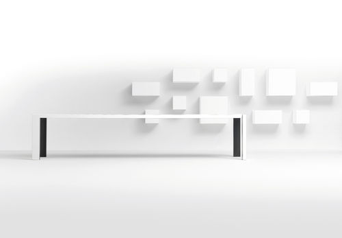 contemporary wall bookcase VISION by  Karel Boonzaaijer & Pierre Mazairac  pastoe
