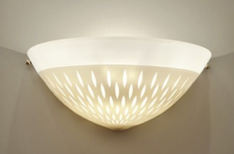 contemporary wall light 2 TONE CARVED  Studio Bel Vetro
