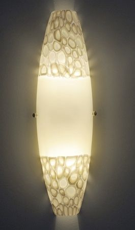 contemporary wall light POD PEBBLE MURRINI  Studio Bel Vetro