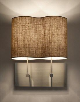 contemporary wall light (fabric) ORGANIC: PEANUTS A by Emmanuel Lussot DAY GLOW EDITIONS