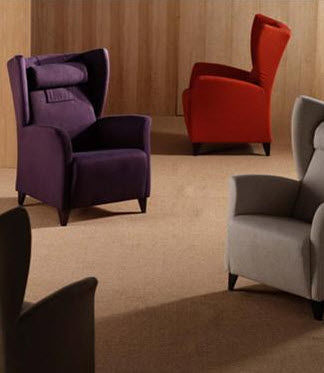 contemporary wingchair PANECK FUN by Josep Gras GRASSOLER