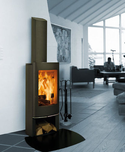 contemporary wood-burning stove SCAN 45 MINI SCAN
