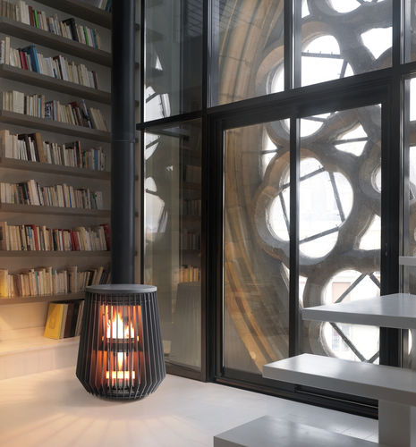 contemporary wood-burning stove (cast iron) ILOT by A. Lapierre INVICTA