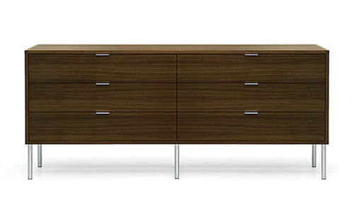 contemporary wooden chest of drawers PARTU BENSEN