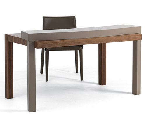 contemporary wooden secretary desk DAVINCI by Gianvittorio Plazzogna cattelan italia