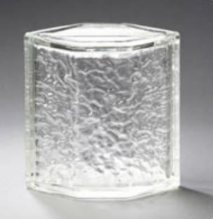 curved glass brick HEDRON® Pittsburgh Corning