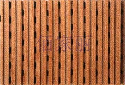 decorative acoustic wooden wall panel: MDF 09005 techpanel inc