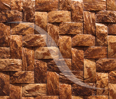 decorative coconut shell eco-friendly wall panel COCONUT SHELL ENITO