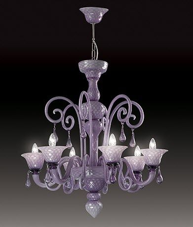 design chandelier (Murano blown glass) VENICE: NUVOLA Classic Light