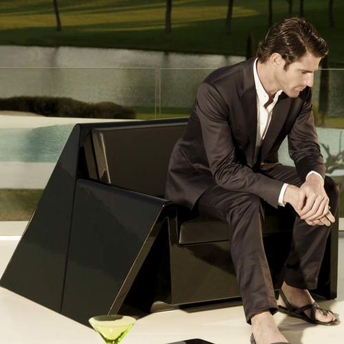 design garden armchair REST by A-cero VONDOM