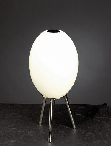 design glass table lamp EDO by Olle Anderson BLOND
