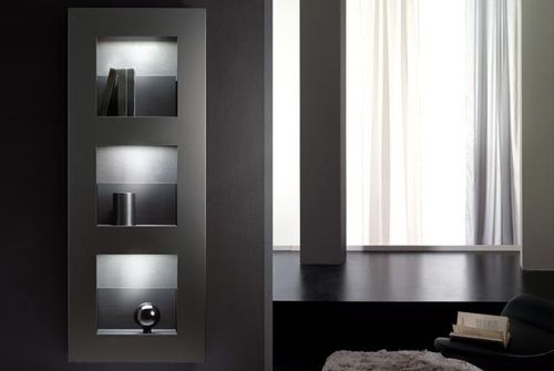 design hot water radiator CUBE by Marco Zito DELTACALOR