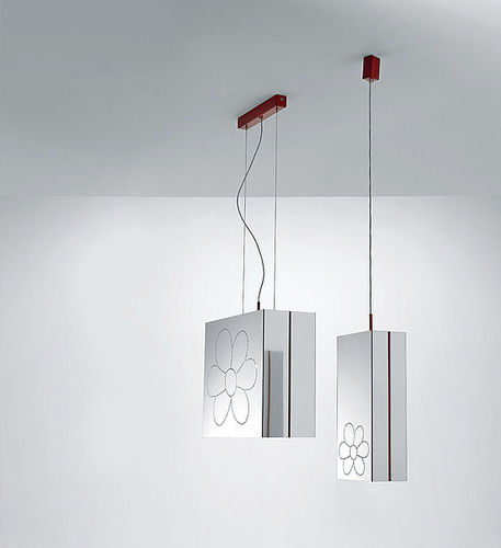 design steel pendant lamp MARIPOSA by Franco Zavarise ZAVA