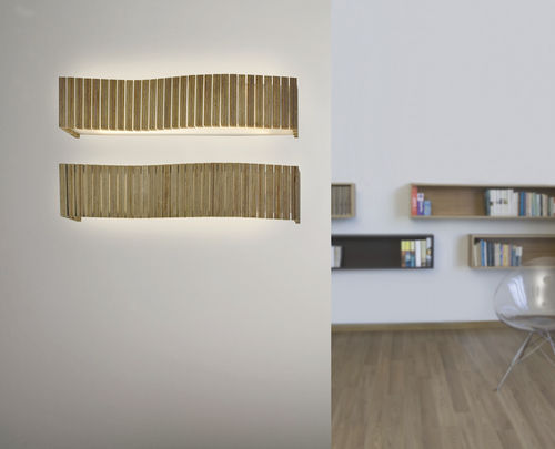 design wall light (wood) UXI -UX06- by Arturo Álvarez arturo alvarez