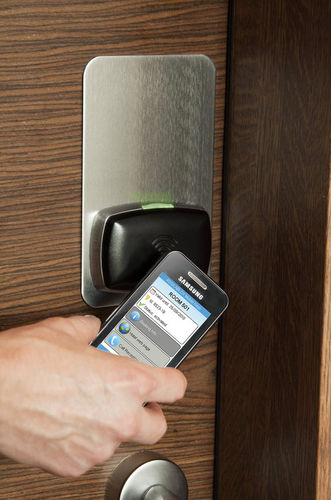 electronic door lock KEYLESS ASSA ABLOY