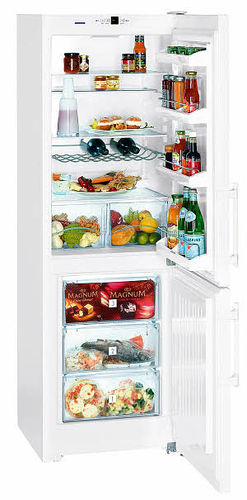 energy efficient bottom mount refrigerator (EU Energy label) CUP 3503 LIEBHERR