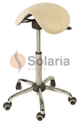 esthetician saddle stool PONY SOLARIA