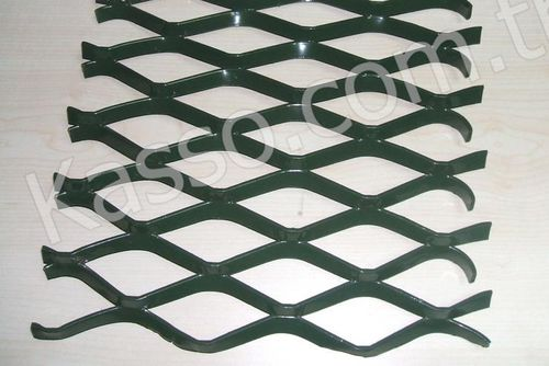 expanded metal rhomboidal mesh GEN - 03 Kasso Engineering Limited Co.