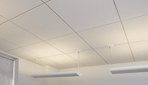 fiberglass acoustic tile for suspended ceiling ECOPHON® FOCUS� DG Certain Teed