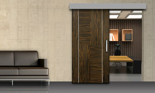 fixing system for wood sliding door ELEGANCE Open Space