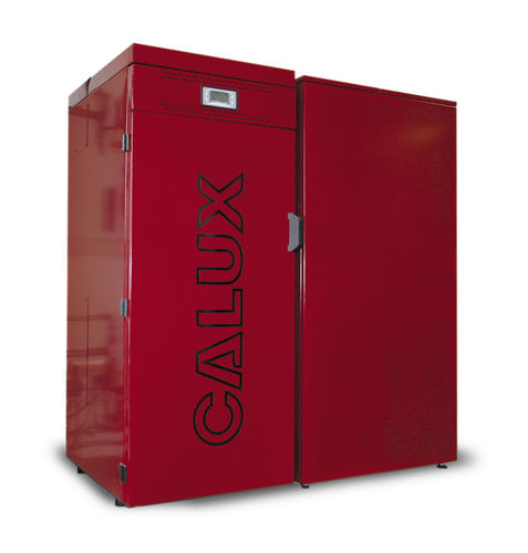 floor standing wood pellet boiler SINTESI 20 KW Calux Srl