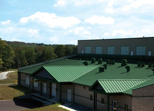 galvanized steel standing seam roofing KLASSICKOLORS® Follansbee