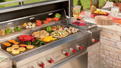 "gas barbecue 54"" SUB-ZERO"