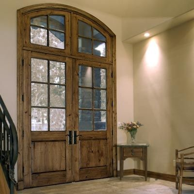 glass pane fitted entrance door HERITAGE SERIES CRAFTSMAN KOLBE