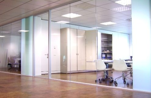 glass removable partition G1-G2 Gemino
