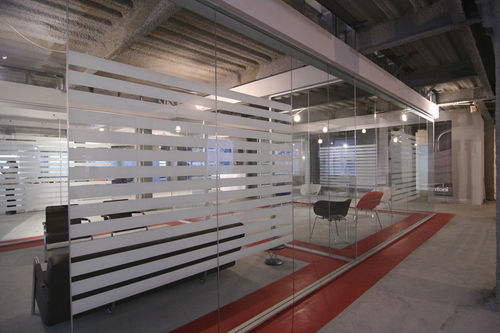 high resistance acoustic removable partition METAFORA Adotta Italia srl