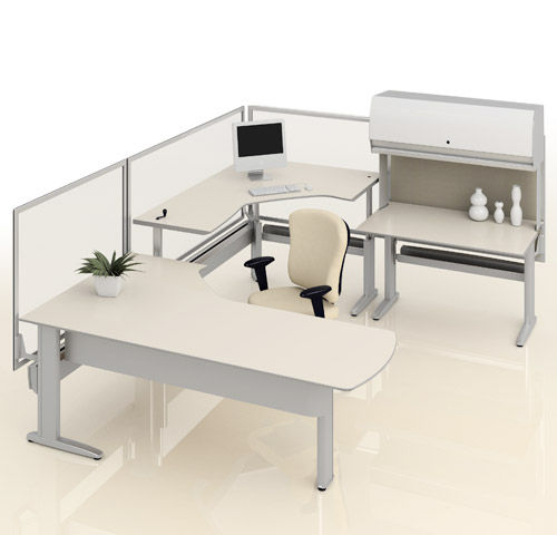 individual workstation for open plan office GENESIS ® KI