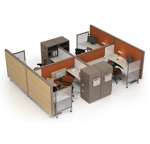 individual workstation for open plan office STUDIOWORKS KI