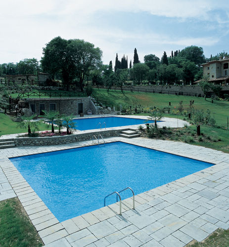 inground wall swimming pool (steel) BLUESPRING LAGHETTO