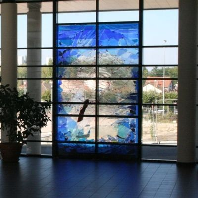insulating patterned glass panel VIM DECORATIF Macocco