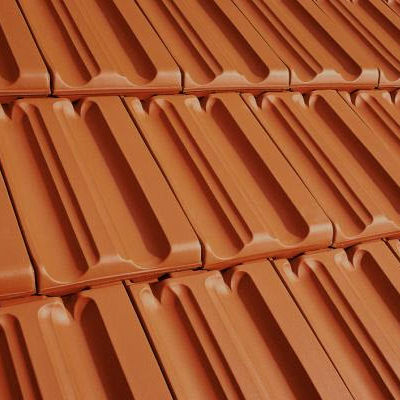 interlocking clay roof tile SINTERFALZ ERLUS