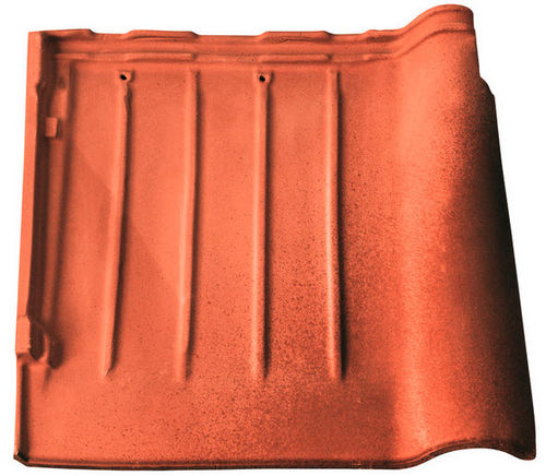 interlocking clay roof tile FIAMMATA TF7 area industrie ceramiche