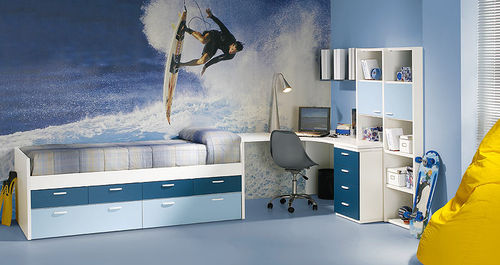 kids bed with drawers (boys) NARDI  Homes