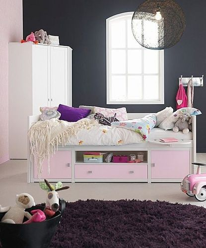 kids bed with drawers (girls) LIFE TIME