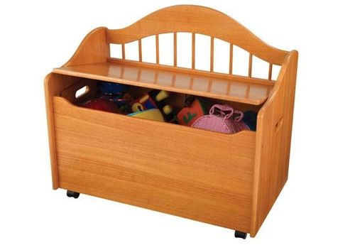 kids bench with toy box (unisex) LIMITED EDITION  KidKraft