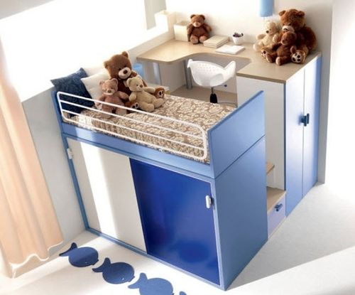 kids compact bed (boys) 909 Doimo Cityline