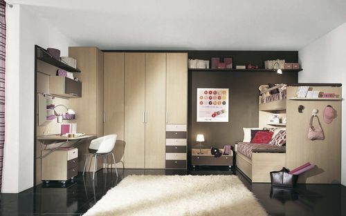 kids room (girls) SESAMOH Sangiorgio Mobili