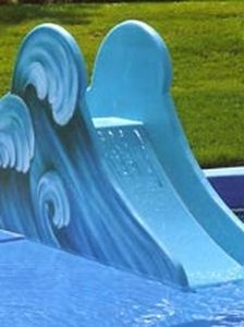 kids slide for public pools WAVE Hartwigsen