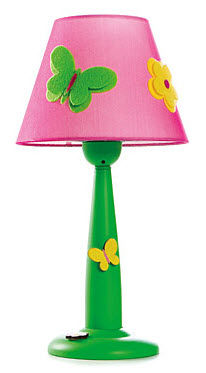 Table Lamps  Girls on Kids Table Lamp  Girls    Baby Flower   Cilek As