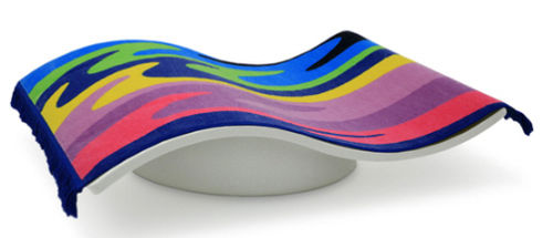 kids upholstered bench (unisex) FLYING CARPET by Eero Aarnio Magis me too