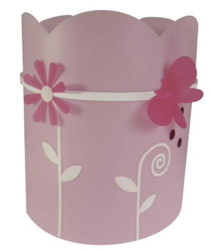 kids wall light (girls) PAPILLON ROSE CASSENOISETTE