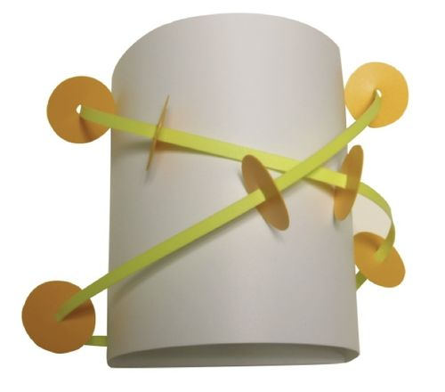 kids wall light (unisex) ZÉBULON BLANC CASSENOISETTE